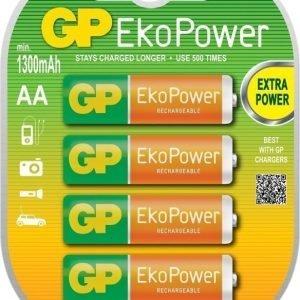 GP EkoPower NiMH 1300mAh R6 4-Pack