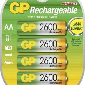 GP NiMH 2600mAh R6 4-Pack