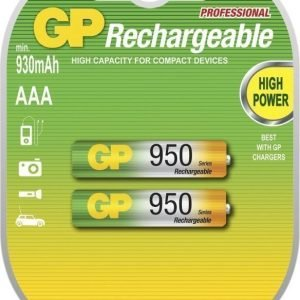 GP NiMH 950mAh R03 2-Pack