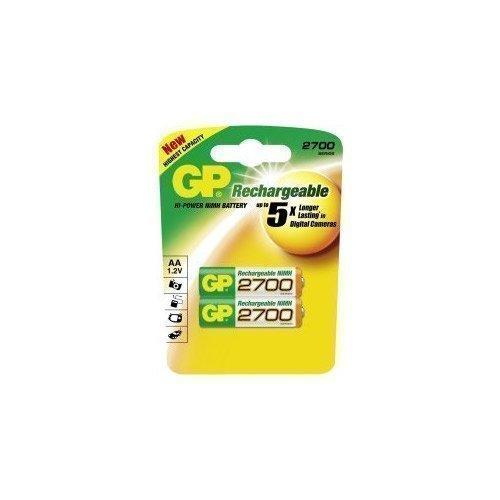 GP NiMH AA 2700mAh 2-pack