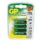 GP ReCyko+ RECHARGEABLE AAA MIGNON PENLITE (850mAh) blister of 4