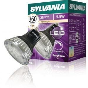 GU10 LED V2 360Lm Himmennettävä 2700K 40d 5 5W