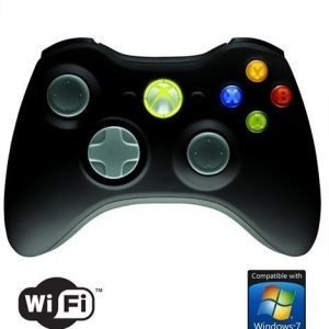 Gamepad Microsoft Gamepad XBOX 360 Wireless Controller for Windows Black