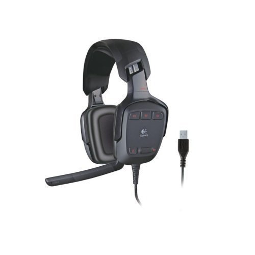 Gaming headset Logitech G35 Surround Sound Headset