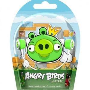 Gear4 Angry Birds Vihreä Possu Kuulokkeet