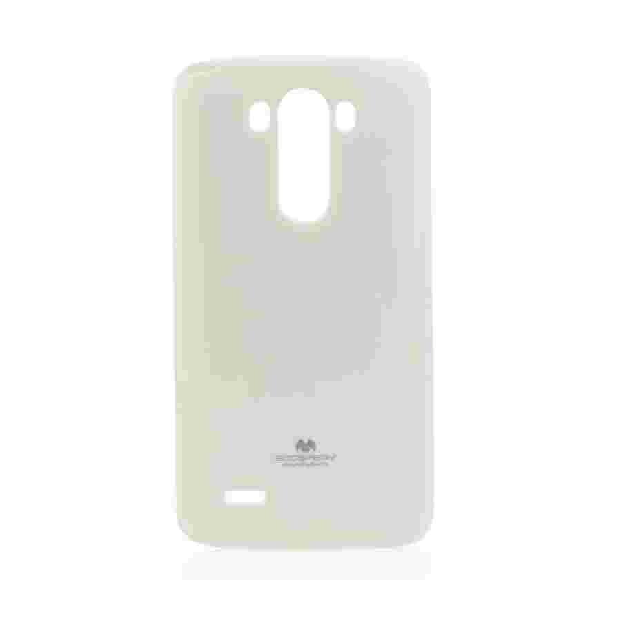 Goospery Jelly Case LG G3 - Valkoinen