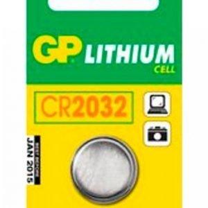 Gp-Batterier Cr2032 3v 1-Pakkaus
