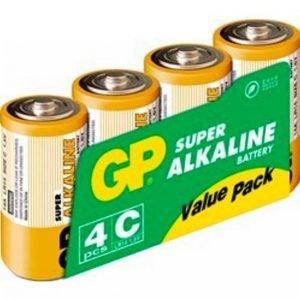 Gp-Batterier Lr14 Paristot 4-Pakkaus