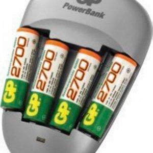 Gp-Batterier Powerbank Quick3 Akkulaturi