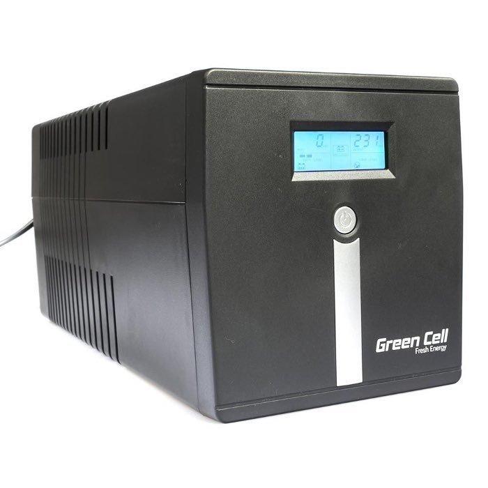 Green Cell UPS varavirtalähde 1000 VA / 600W