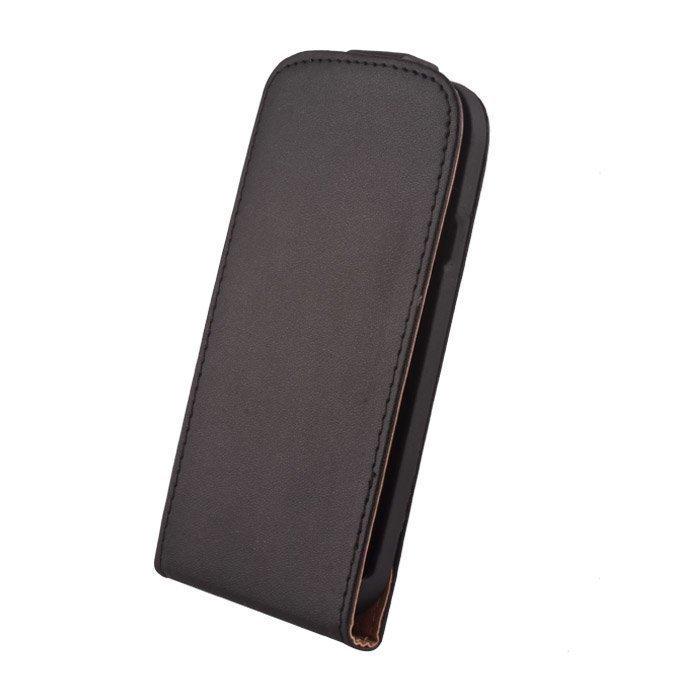 GreenGo Samsung Galaxy XCover 2 Suojakotelo - Laadukasta Keinonahkaa Musta
