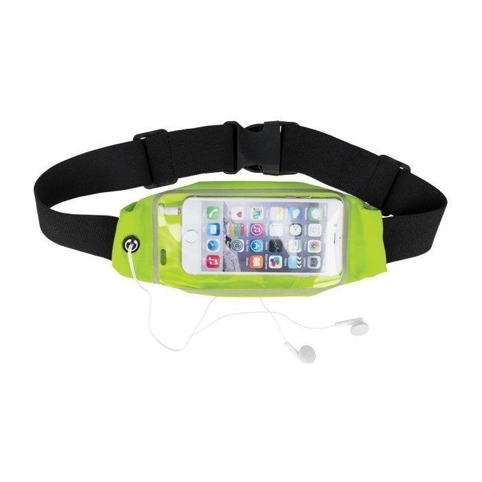 GreenGo vyölaukku urheiluun iPhone 6 puhelimelle - Musta