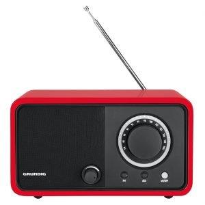 Grundig Tr1200 Radio Punainen