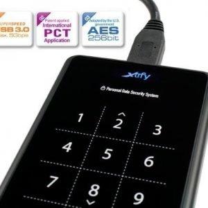 HDD-Acc XTRFY XS1 Encrypted case