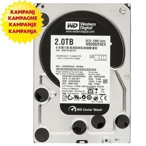 HDD-Intern-3.5 Western Digital Caviar Black WD2002FAEX 40003