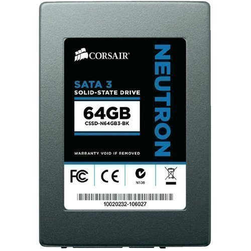 HDD-SSD Corsair Neutron 64GB SSD R:545/W:330 2.5'' 7mm SATA-3