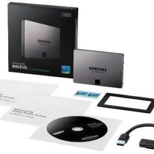 HDD-SSD Samsung 840 EVO Laptop Kit 250GB SSD R:540/W:520 2.5'' SA