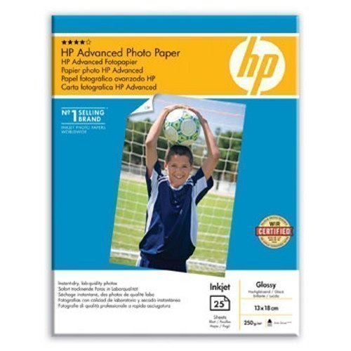 HP 13x18 Advanced Glossy Photo paper 250g (25)