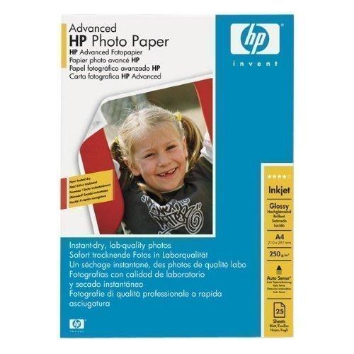 HP A4 Advanced Glossy Photo Paper (25) HPQ5456A