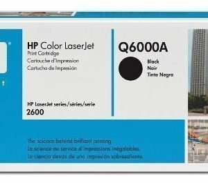HP Color LaserJet Q6000A Black Tonerkassett