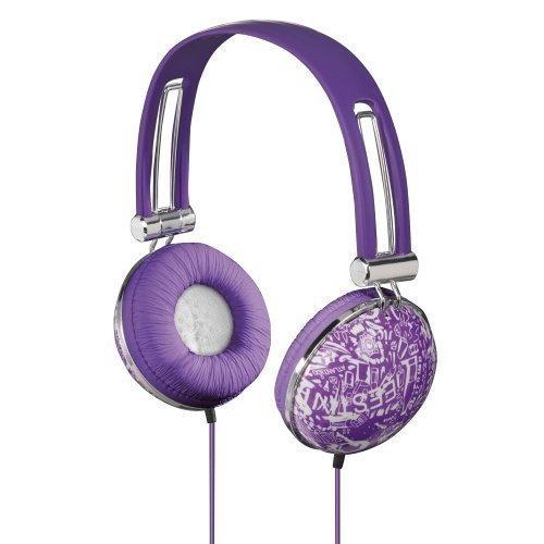 Hama HK-3043 On-ear Purple/White