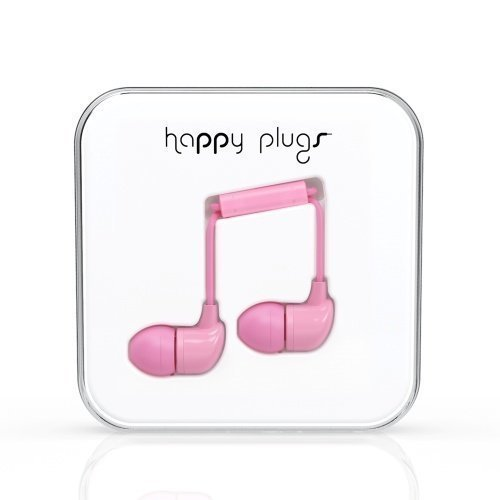 Happy Plugs In-Ear with Mic1 Pink