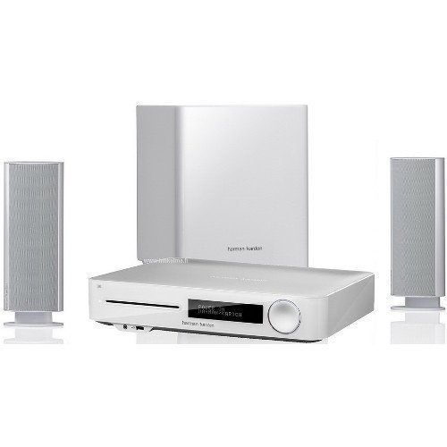 Harman Kardon BDS 477W 2.1 Blu-ray 3D White