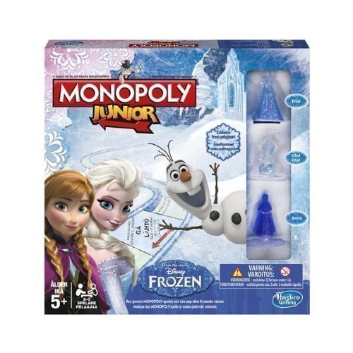 Hasbro Monopol Junior Frozen Edition SE/FI