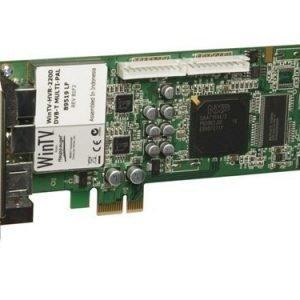Hauppauge WinTV HVR-2200 ingångsadapter för DVB-T-mottagare / analog TV / radiomottagare / video PCIe