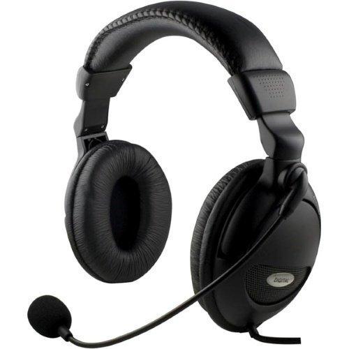 Headset HL9 Black med volymkontroll HL-9 Microfon