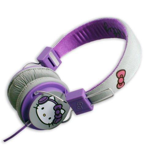 Hello Kitty Ear-Pad Purple/Grey