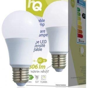 Himmennettävä LED-lamppu A60 E27 9 5 W 806 lm 2700K