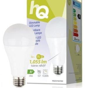 Himmennettävä LED-lamppu A67 E27 13 W 1 055 lm 2700K
