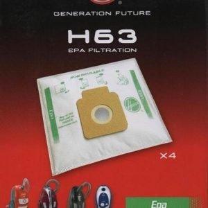 Hoover H63 Pölypussit 4 Kpl / Pss