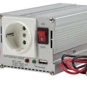 Hq 12v -> 230 V300 W + Usb Invertteri