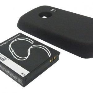 Huawei M835 AkkuLaajennetulla mustalla takakannella 2100 mAh