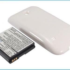 Huawei Sonic Ascend II M865 Akku Laajennetulla valkoisella takakannella Akku 2200 mAh