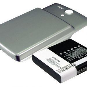 Huawei U8815 Ascend U8815 Tehoakku laajennetulla hopeisella takakannella Akku 3600 mAh
