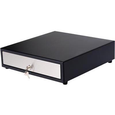 ICD kassalaatikko EPSON sähköavaus 4+8 lokeroa musta/hopea