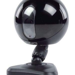 IP-kamera sisätiloihin musta