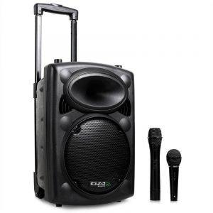 Ibiza Sound Kannettava Kaiutin 400 W + Langaton Mikrofoni