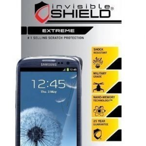 InvisibleSHIELD Extreme for Samsung Galaxy S III Screen