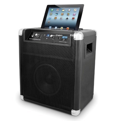 Ion Audio Block Rocker Bluetooth Black