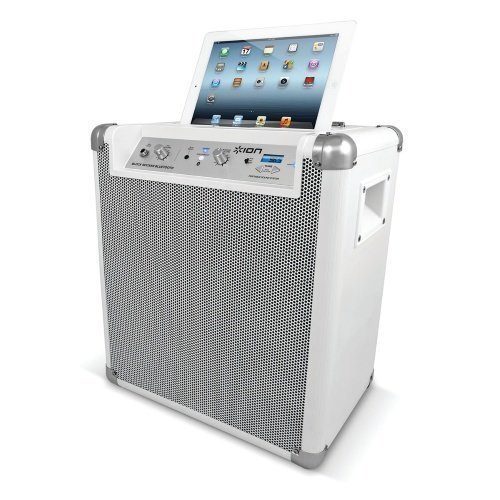 Ion Audio Block Rocker Bluetooth White