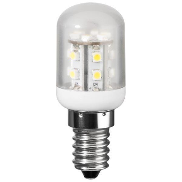 Jääkaapin LED-lamppu E14 kylmän valkoinen 1 2W 230V 80Lm