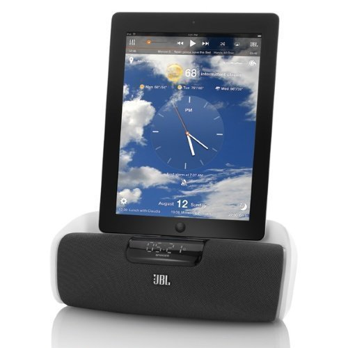 JBL OnBeat aWake Bluetooth iPhone & iPad Docking White