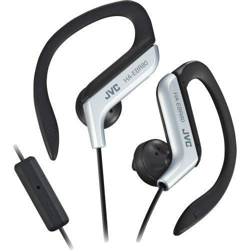 JVC HA-EBR80 Sport Earbuds with Mic1 Silver / Black