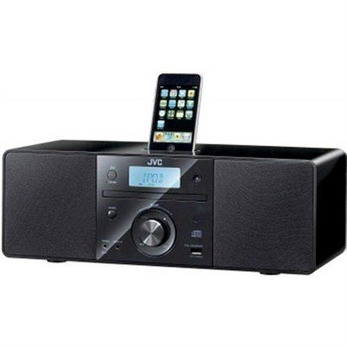 JVC RD-N1EN- Black iPod Docking