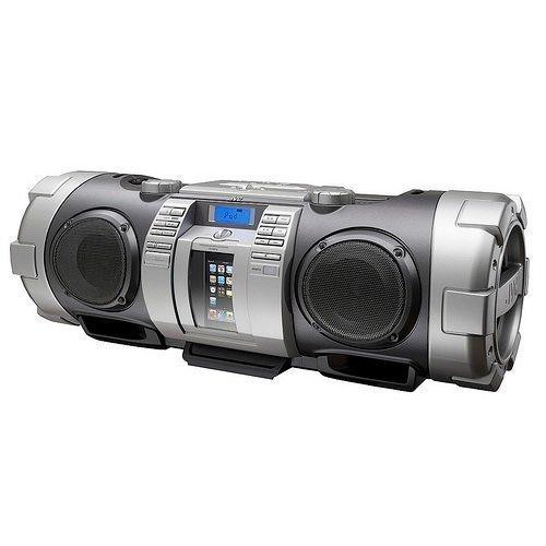 JVC RV-NB70SEN Silver iPod Docking