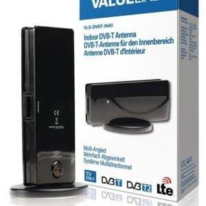 Käännettävä DVB-T-antenni sisäkäyttöön 15 dB
